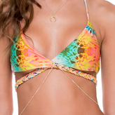 Luli Fama Reversible Cross Over Halter In Multicolor (L468218)