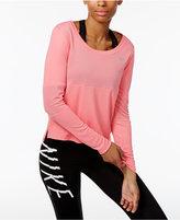 Nike Cit Core Dry Mesh Running Top