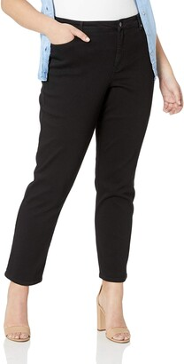 Gloria Vanderbilt Women's Plus Size Rail Straight Leg Jean