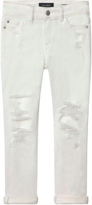 DL1961 Girl's Harper Distressed Boyfriend Denim Jeans, Size 7-16