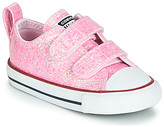 Converse CHUCK TAYLOR ALL STAR 2V - OX girls's Shoes (Trainers) in multicolour