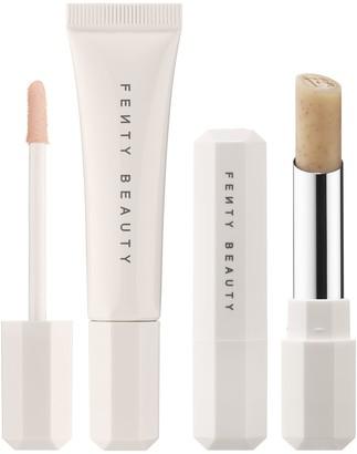 Fenty Beauty By Rihanna Pro Kiss'r Duo: Scrubstick + Lip Balm Set