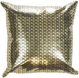 """Lorena Gaxiola Bling Accent Pillow, Gold, 16"""" - Gold - 16 in. x 16 in."""