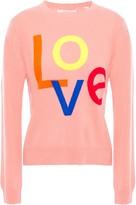 Parker Chinti & Intarsia Cashmere Sweater