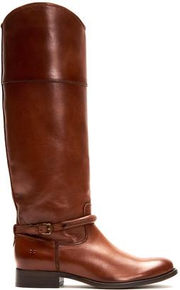 Frye Women's Casual boots COGNAC - Cognac Melissa Seam Tall Leather Boot - Women