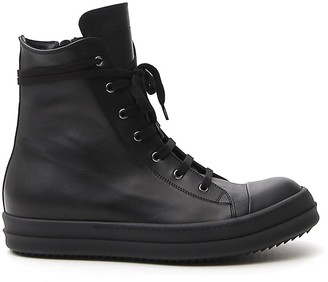 Rick Owens Larry High Top Sneakers