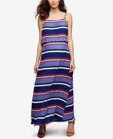 A Pea in the Pod Maternity Striped Maxi Dress