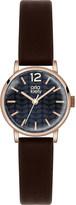 Orla Kiely OK2014 Frankie leather and stainless steel watch