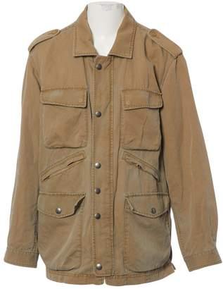 Fay Khaki Cotton Jackets