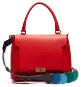 Anya Hindmarch Circle Bathurst small leather bag