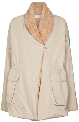 Deveaux Billie faux shearling-lined jacket