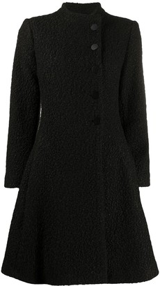 Emporio Armani Button-Up Fitted Coat