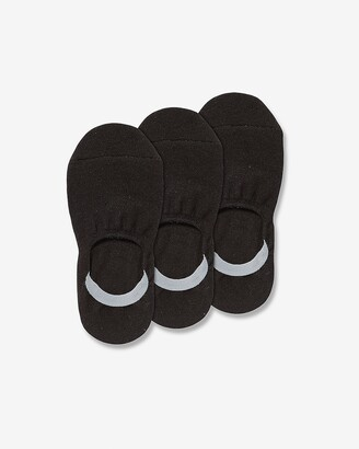 Express 3 Pack Solid No-Show Socks