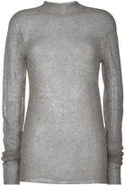 Rick Owens Soft jumper - women - Polyamide/Alpaca - XS