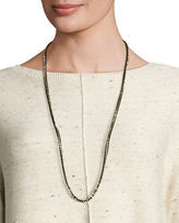 Eileen Fisher Ribbons Beaded Necklace