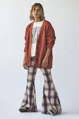 We The Free Just Float On Printed Flare Jeans