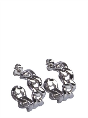 Maison Margiela Chain Studded Earrings