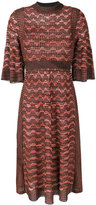 M Missoni knitted dress - women - Cotton/Polyamide/Polyester/Metallic Fibre - 40