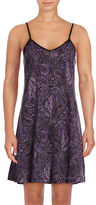 Lord & Taylor Printed Short Chemise
