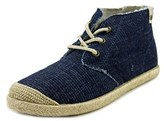 Roxy Flamenco Mid Women Canvas Blue Fashion Sneakers.