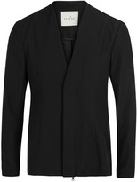 Peir Wu Black Wool Blend Jacket