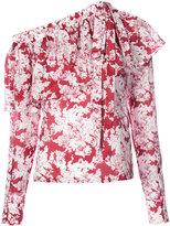 Robert Rodriguez floral print top - women - Silk/Cotton - 2