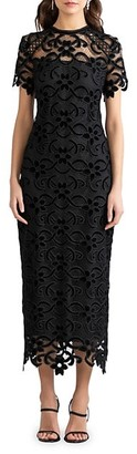 Shoshanna Kira Lace Midi Dress