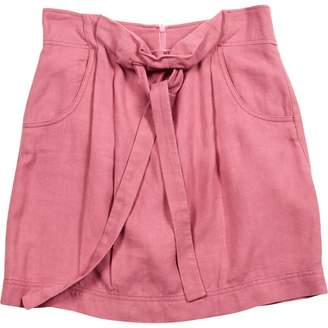 See by Chloe Pink Linen Skirts