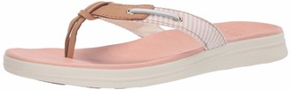 Sperry Women's Adriatic Thong Skip Lace Seersucker Sandal