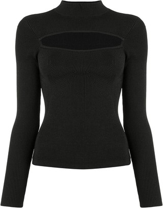 Manning Cartell Australia Mock Neck Cut Out Sweater
