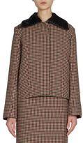 Nina Ricci Checked Wool Jacket