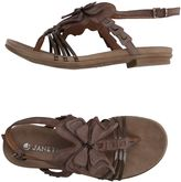 Janet Sport Thong sandals
