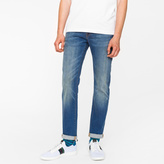 Paul Smith Men's Slim-Fit 9.5oz Dark-Wash Stretch-Denim Jeans