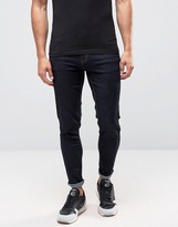 Farah Howells Super Skinny Jeans In Rinse Stretch