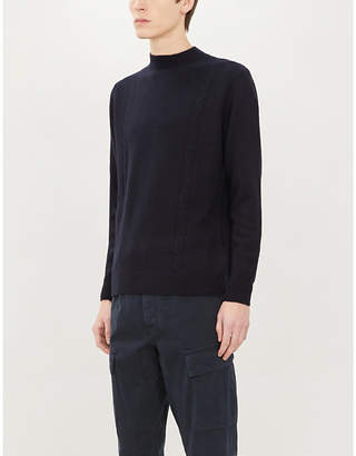 SAM. OSCAR JACOBSON turtleneck knitted jumper