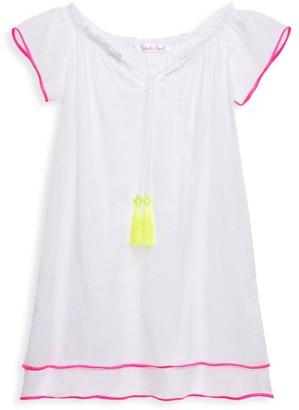 Stella Cove Little Girl's & Girl's Neon Trim Dress