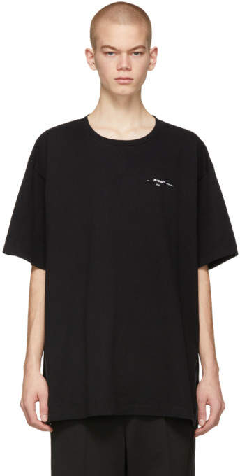 Off-White Black Colored Arrows T-Shirt