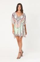 Hale Bob - Hania Chiffon Dress in Taupe
