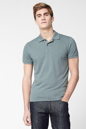 Lacoste Short Sleeve Stretch Pique Polo