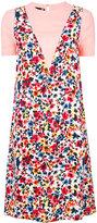 Love Moschino floral T-shirt dress - women - Viscose - 38