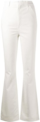 J Brand Tectonic high-rise flared trousers