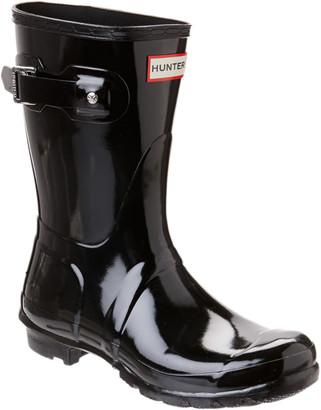 Hunter Women's Original Short Gloss Boot