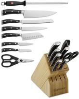 Wusthof Classic Ikon 9-Piece Knife Block Set