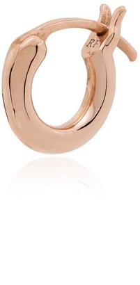 Roxanne First 14kt Rose Gold Huggie Earring