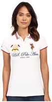 U.S. Polo Assn. Embellished Quilted Shoulder Polo Shirt