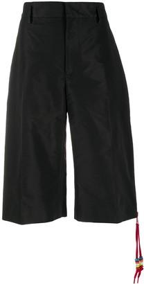 No.21 Zip-Pull Detail Shorts