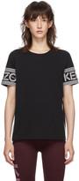 Kenzo Black Logo Piping T-Shirt