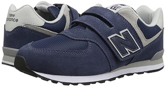 New Balance YV574v1 (Little Kid/Big Kid) (Navy/Grey) Boys Shoes