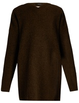 Ellery Napolean open-back wool sweater