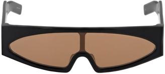 Rick Owens Gene Rectangular Sunglasses